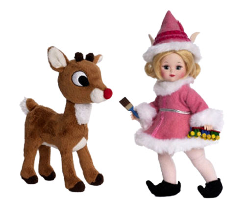 кукла Madame Alexander Wendy Rudolph Red-nosed Reindeer