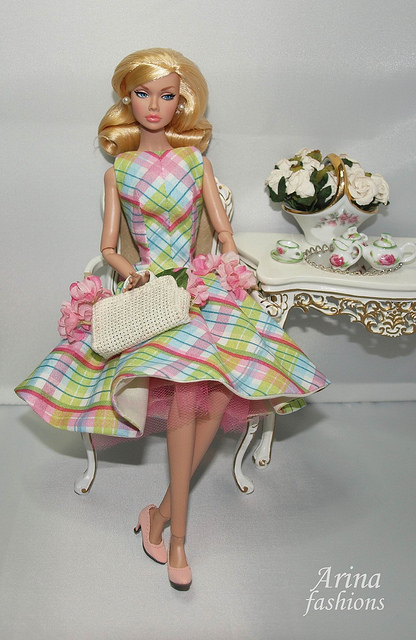 Одежда для кукол Fashion Royalty Barbie Silkstone