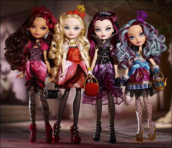Живое фото кукол Ever After High от Маттел
