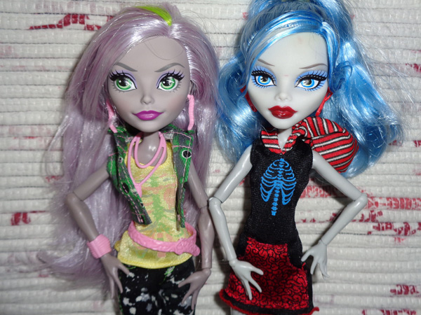 monster high гулия йелпс моника дикей