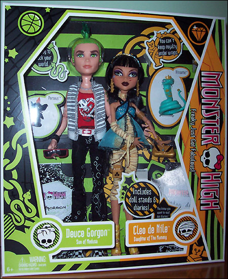 Куклы Monster High - Deuce Gorgon и Cleo de Nile