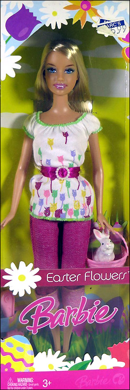 Easter Flowers Barbie
