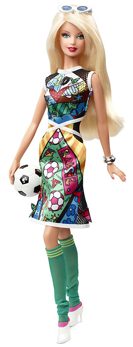 Фото Кукла Барби Ромеро Бритто Britto Barbie