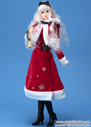 кукла Momoko Holly Night Santa