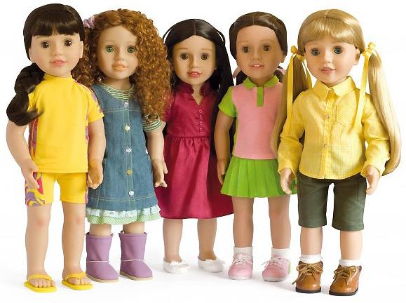 фото куклы девочки
