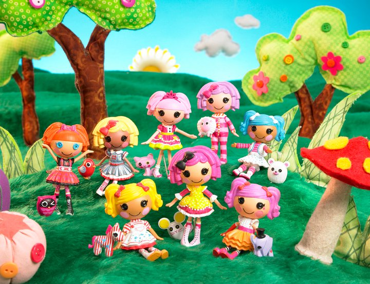 Фото куклы мини Лалалупси Lalaloopsy Bitty Buttons