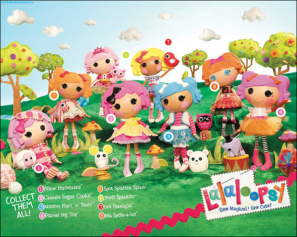 Фото куклы Лалалупси Lalaloopsy Bitty Buttons