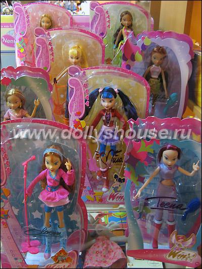 Блум текна куклы винкс в dolly s house