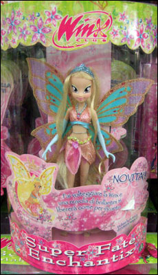 Кукла Winx Стелла Энчантикс Super Fate Enchantix