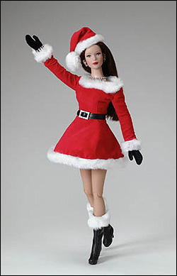 Christmas Tonner Doll